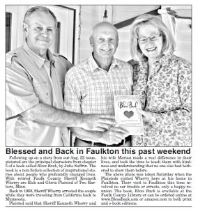 Faulk County Record story