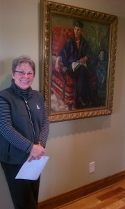 Pastor Gail Berger proprietor of The Blessing House in Victoria, Minn.