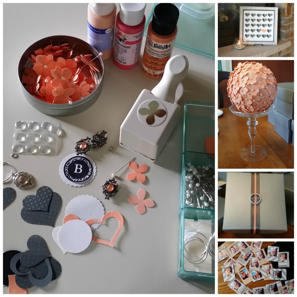 Secrets to a creative bridal shower | http:''juliesaffrin.com