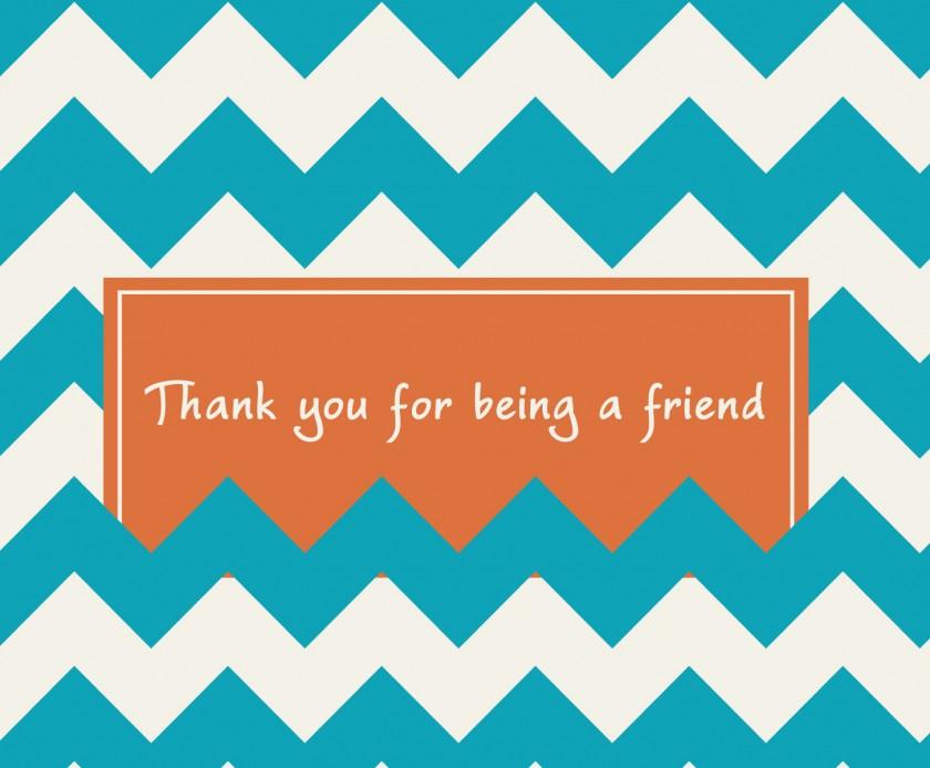 thankyouforbeingafriendchevron | http://juliesaffrin.com