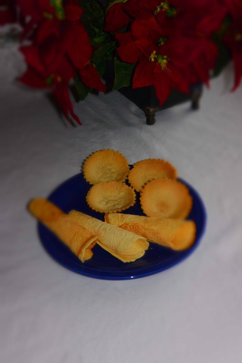 sandbakkels and krumkake | http://juliesaffrin.com