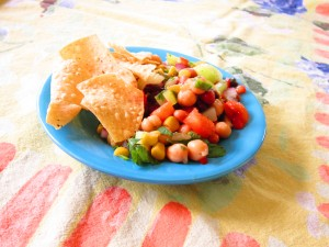 Best Bean Salsa Ever | http://juliesaffrin.com
