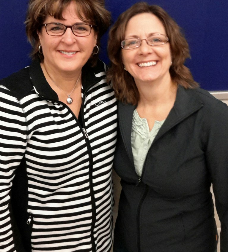 Julie Saffrin and Mary Harms 2016