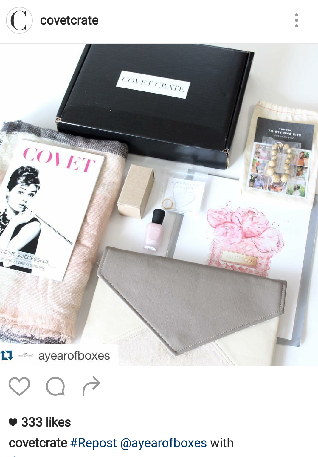 Blessback finds a home in covet crave a subscription box for Home subscription box