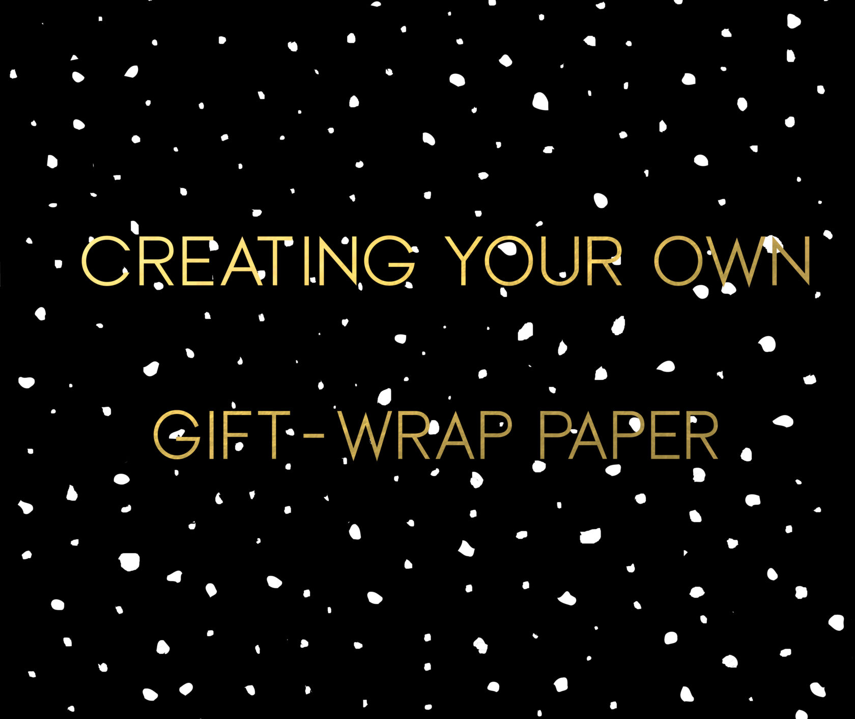 CREATING YOUR OWN GIFT WRAP PAPER WITH SPOONFLOWER | Julie
